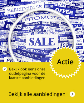 Outlet actieafbeelding